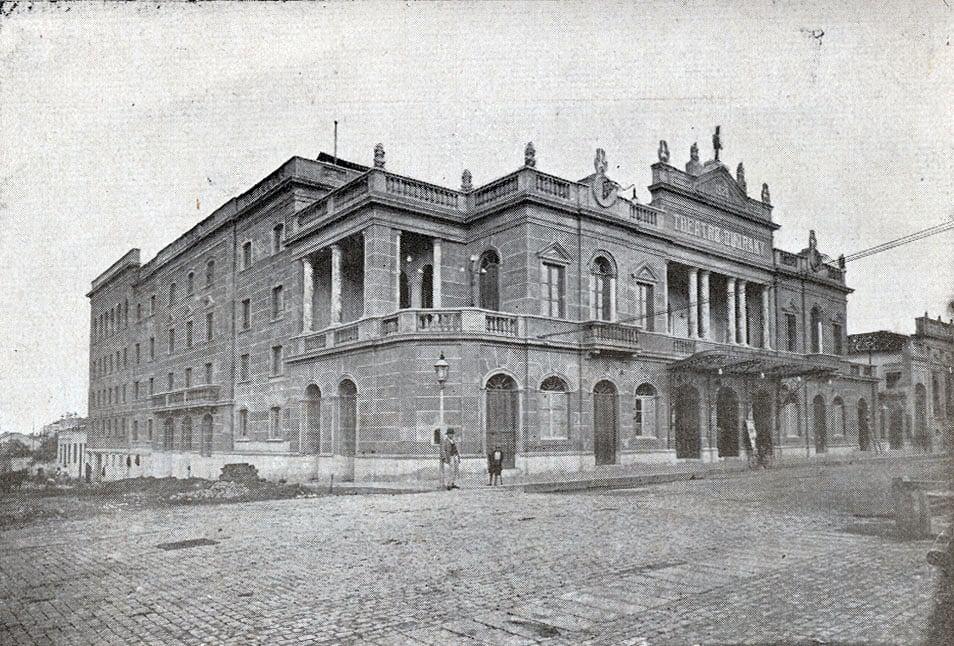 Pelotas - Teatro Guarany no início do século XX.