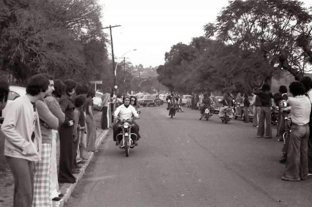 Porto Alegre - Bairro Ipanema na década de 1970.