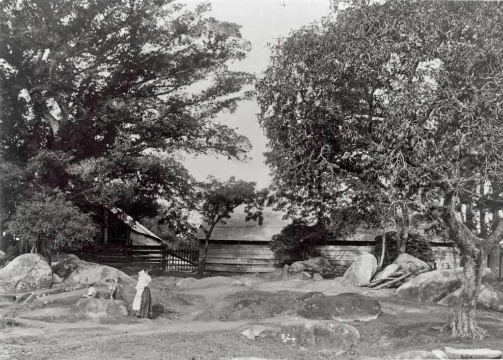 Porto Alegre - Chácara Mostardeiro na década de 1900.