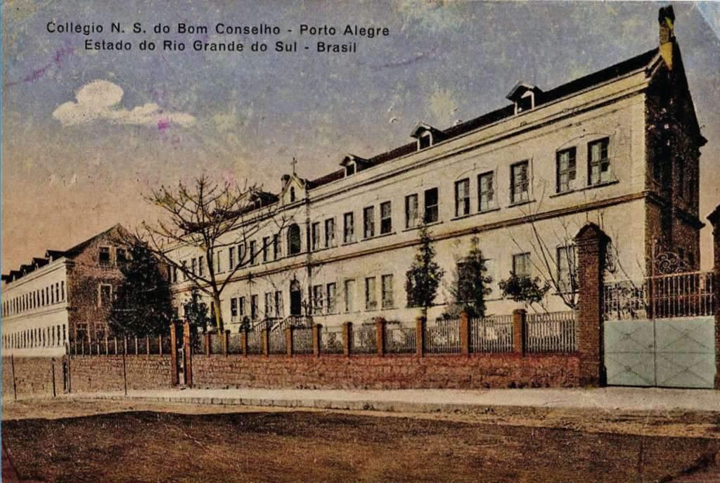 Porto Alegre - Colégio Bom Conselho no início do século XX.
