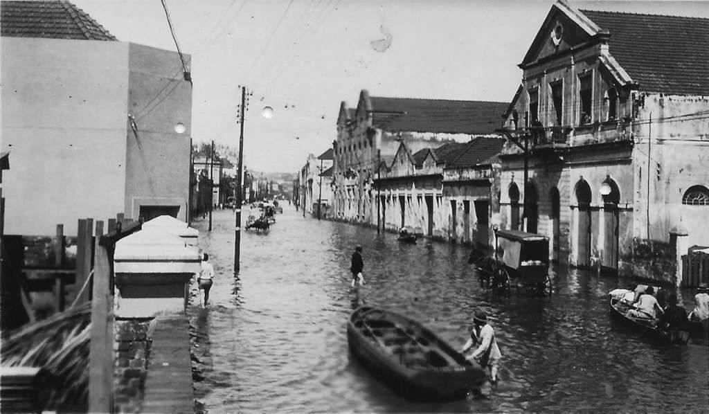 Porto Alegre - Enchente de 1941.