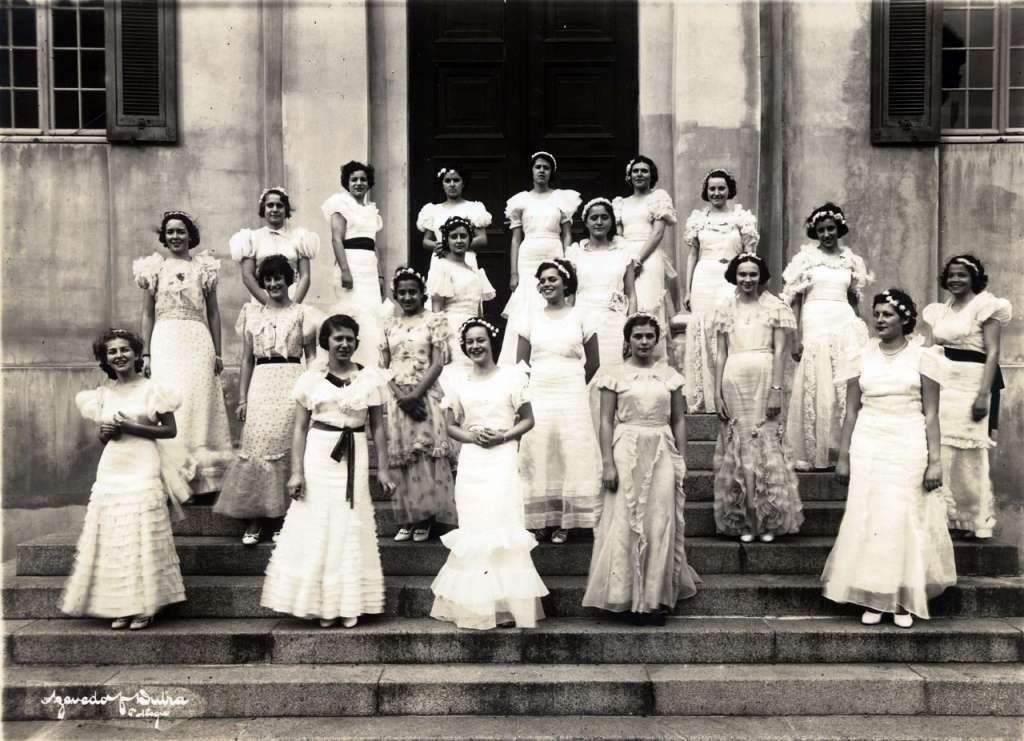 Porto Alegre - Formandas do Colégio Bom Conselho em 1935.