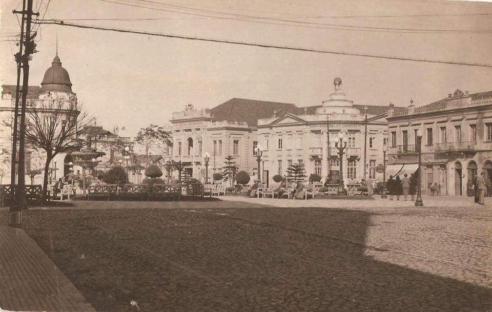 Santa Maria no início do século XX.