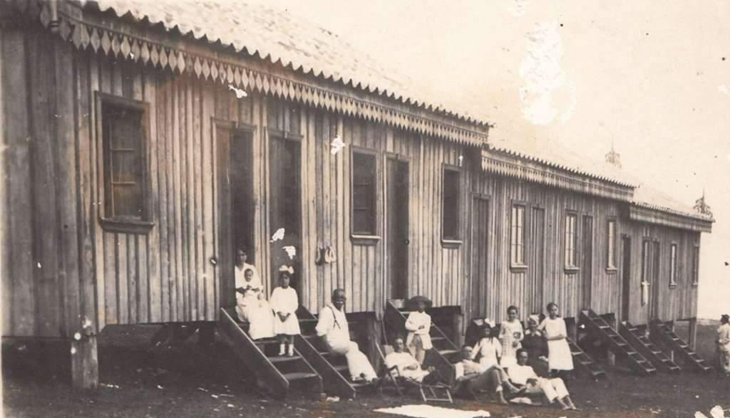 Torres - Hotel Ranchos no início do século XX.