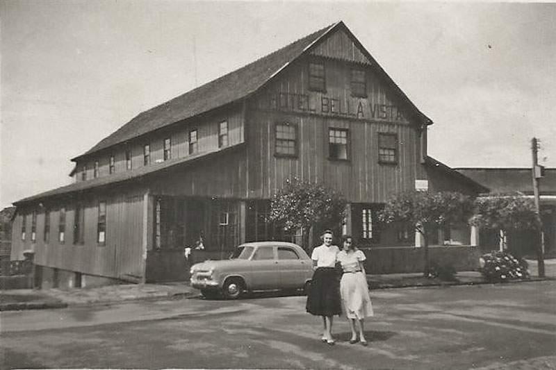Canela - Hotel Bela Vista na década de 1950.