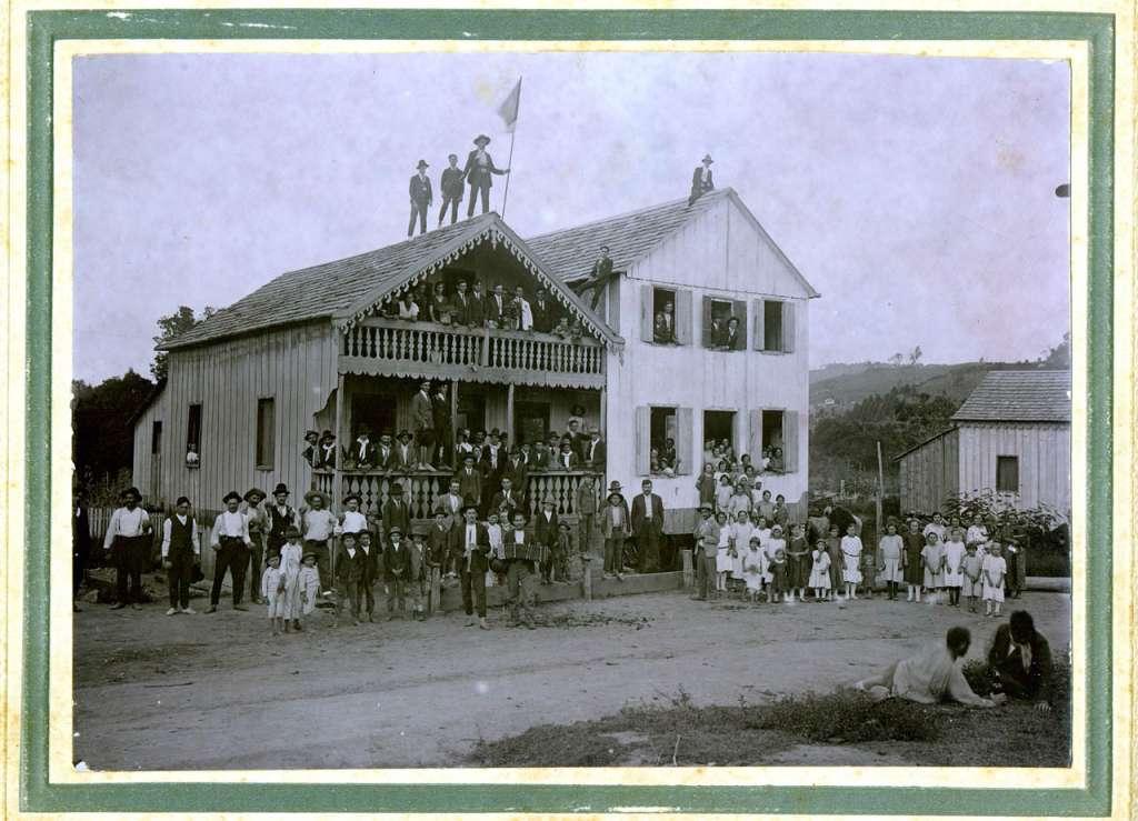 Lajeado Festa na colônia(acervo Felipe Bouvie) início sécXXb