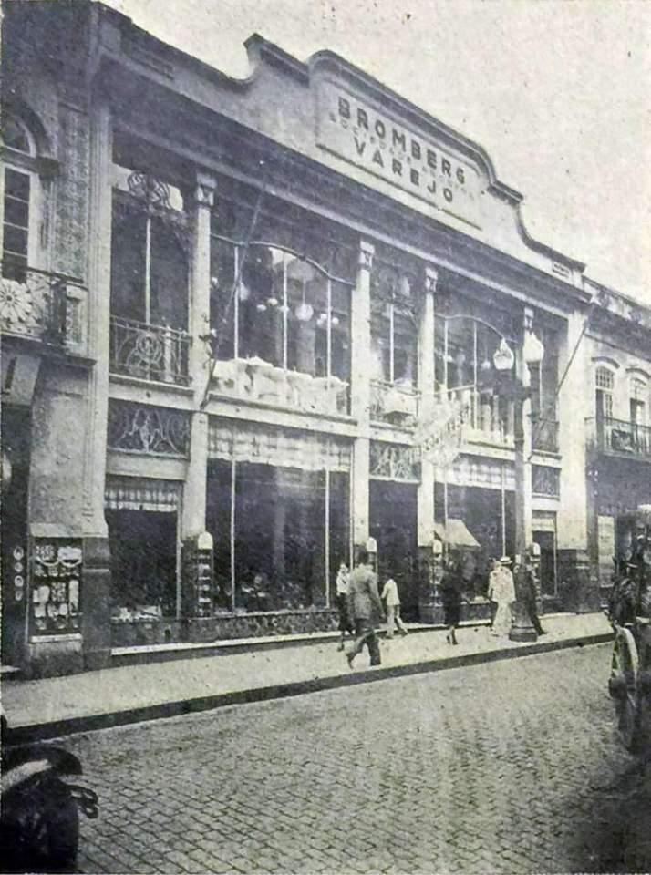 Porto Alegre - Bromberg Sociedade Anônima na década de 1920.
