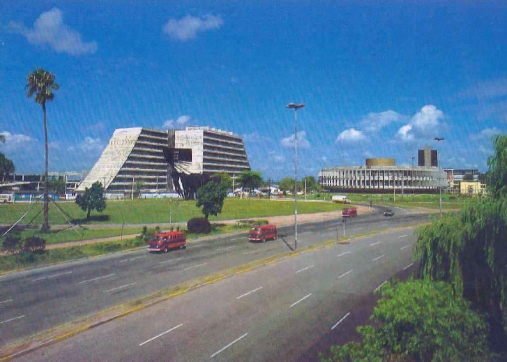 Porto Alegre - Centro Administrativo e Procergs na década de 1970.