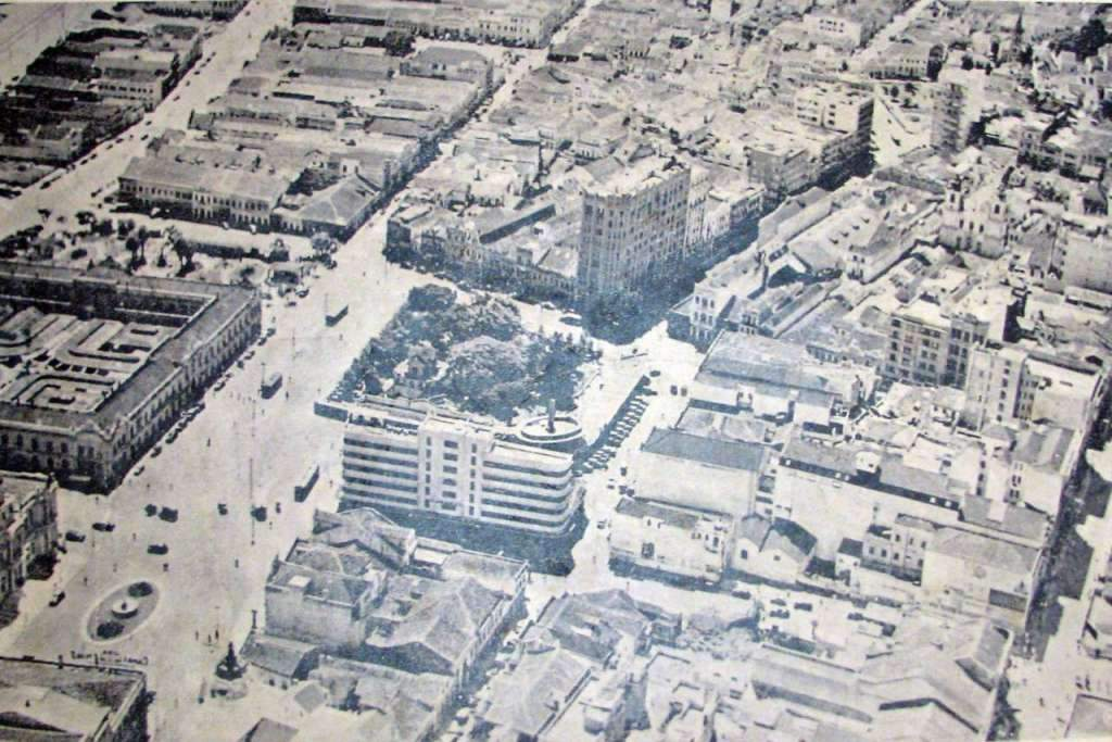 Porto Alegre - Centro na década de 1930.