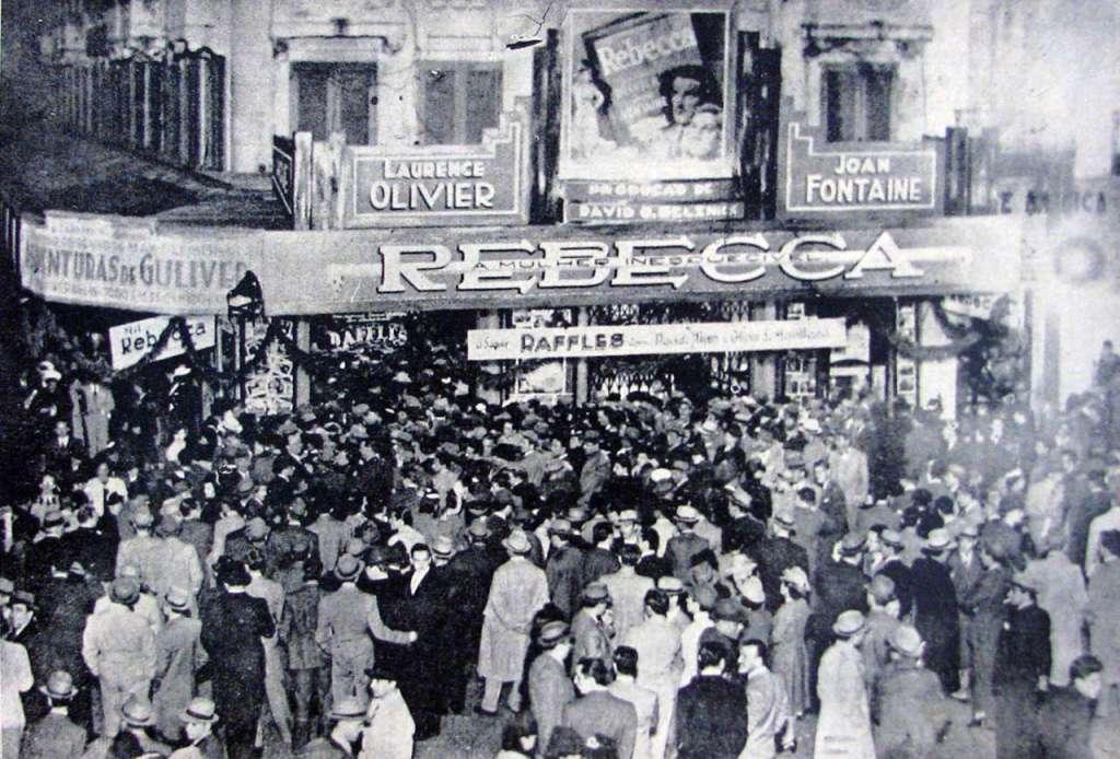 Porto Alegre - Cinema Central na década de 1930.