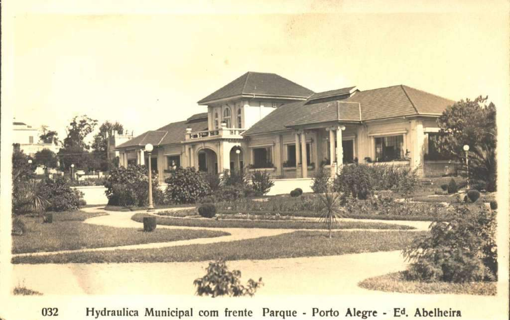 Porto Alegre - Hidráulica Municipal na década de 1930.