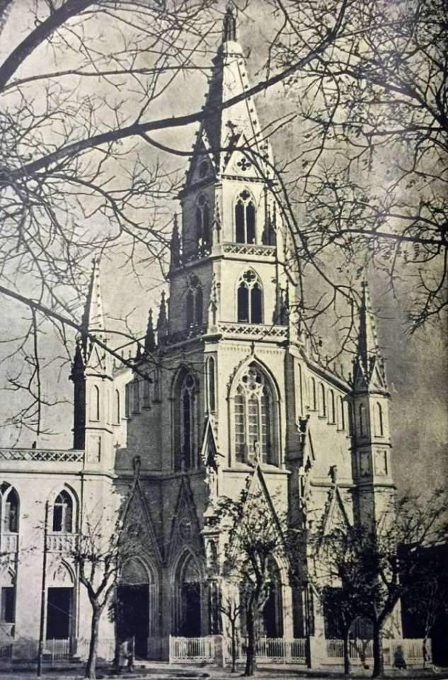 Porto Alegre - Igreja Santa Teresinha na década de 1930.