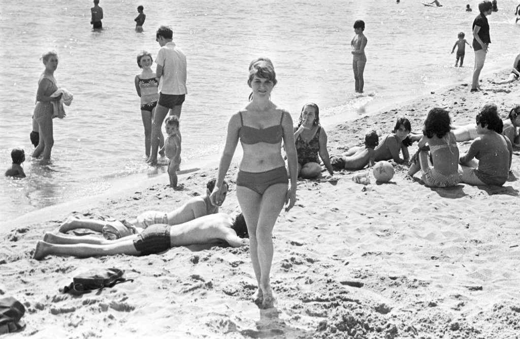 Porto Alegre - Praia de Ipanema na década de 1960.