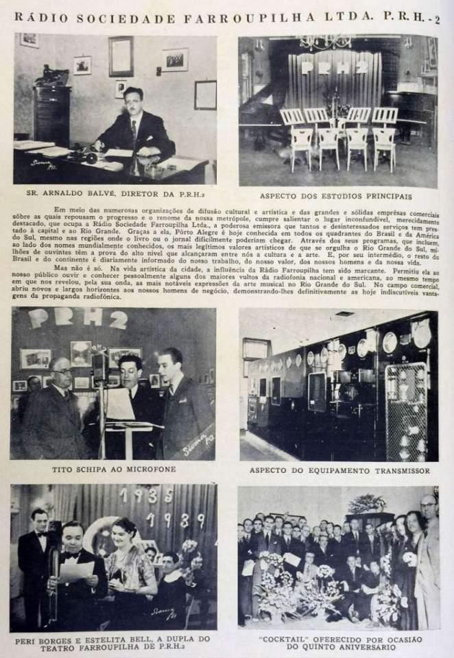 Rádio Farroupilha na década de 1930.