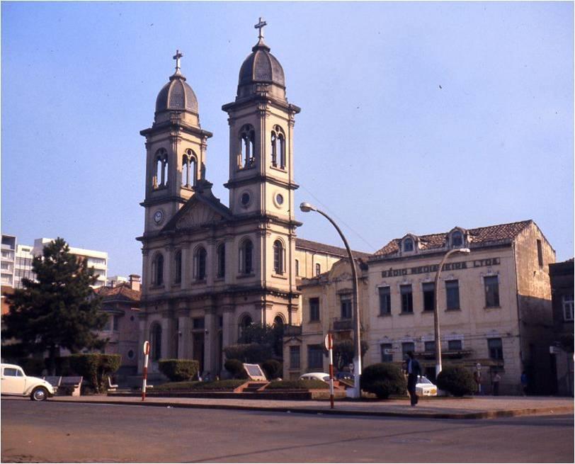 Santa Maria - Catedral na década de 1970.