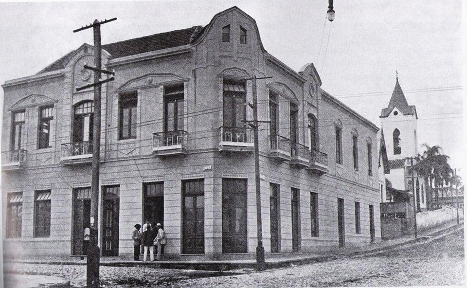 Santa Maria -Sanatório municipal (Bar do Garça) em 1921.