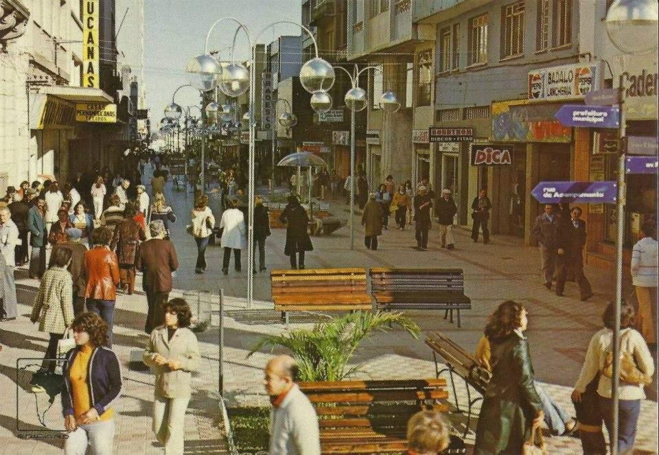 Santa Maria - década de 1970.
