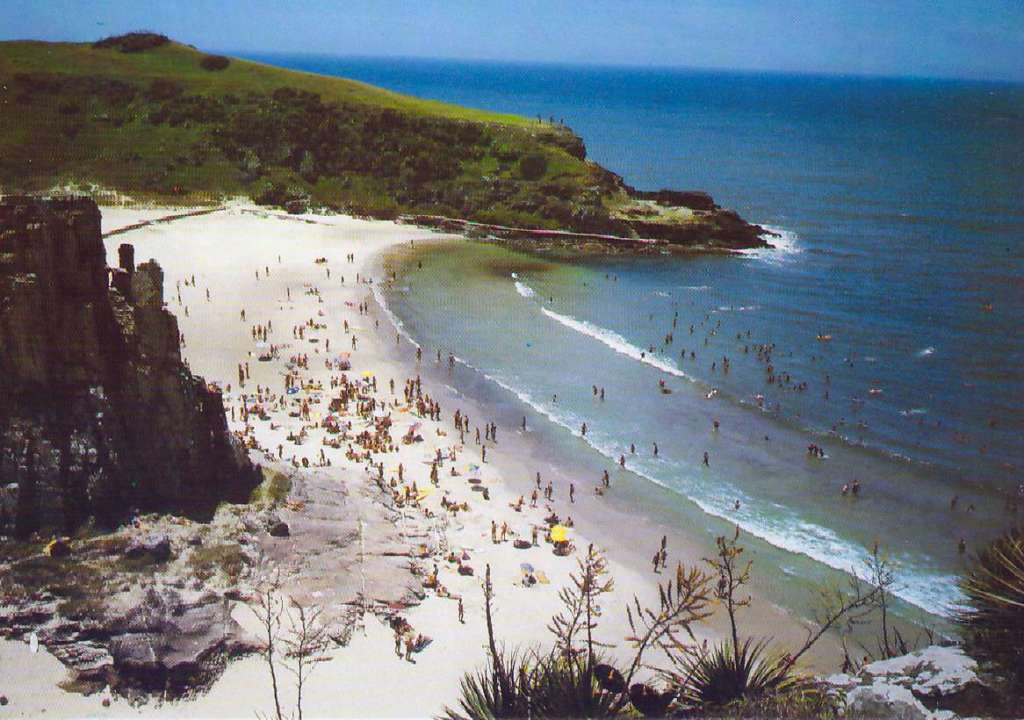 Torres - Postal na década de 1970.