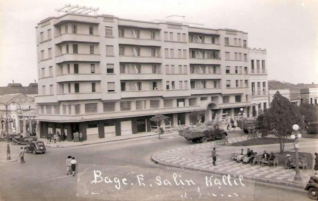 Bagé - Edificio Salim Kallil na década de 1930.