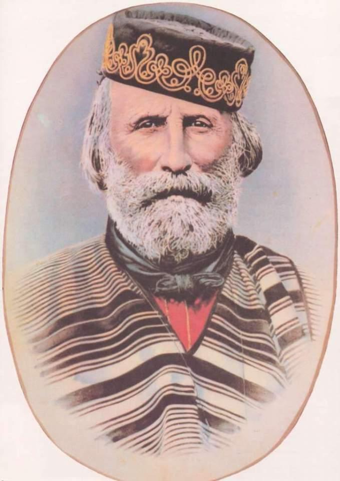 Giussepe Garibaldi.