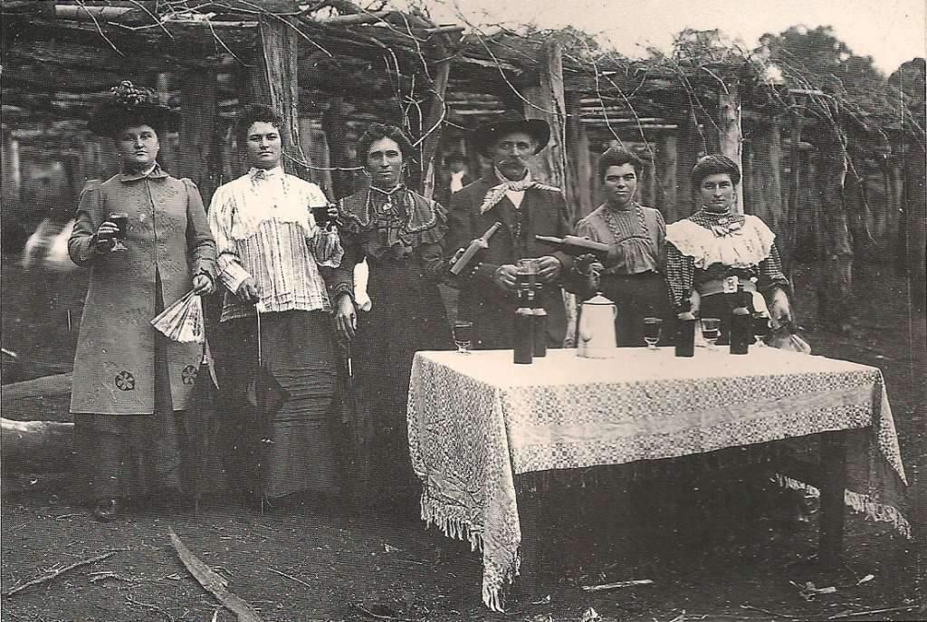 Ijuí - Festa na colônia no início do século XX.