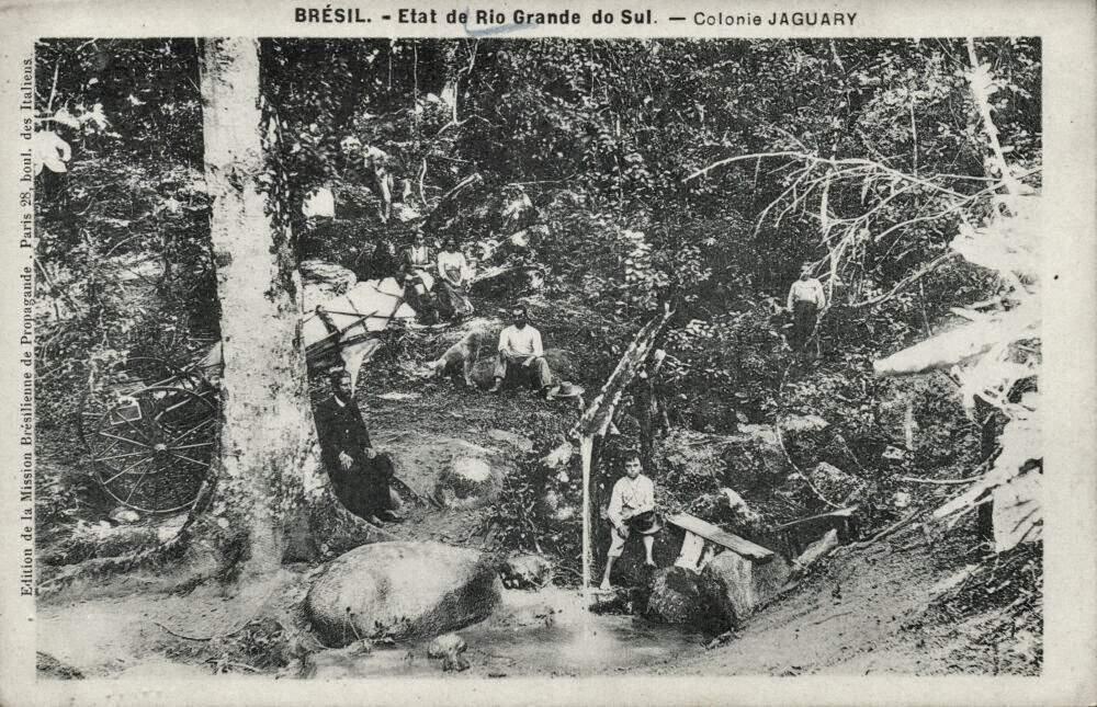 Jaguari - Colônia na década de 1930.