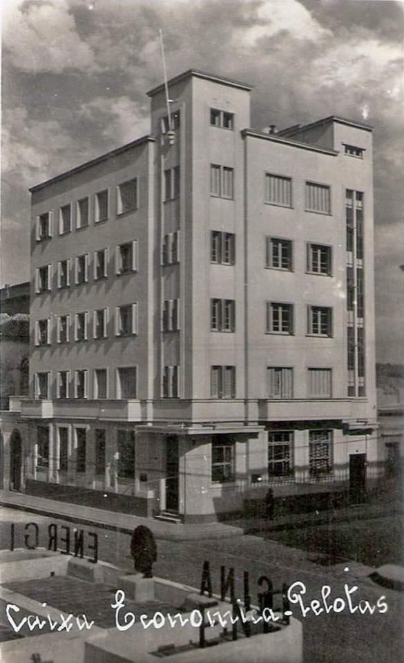 Pelotas - Caixa Econômica Federal na década de 1940.