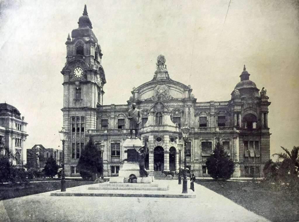 Porto Alegre - Correios e Telégrafos na década de 1940.