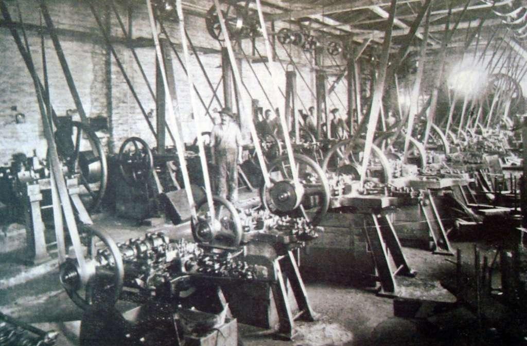 Porto Alegre - Fábrica de pregos João Gerdau em 1901.