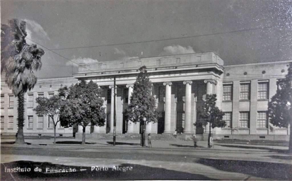 Porto Alegre - Instituto de Educação na década de 1960.