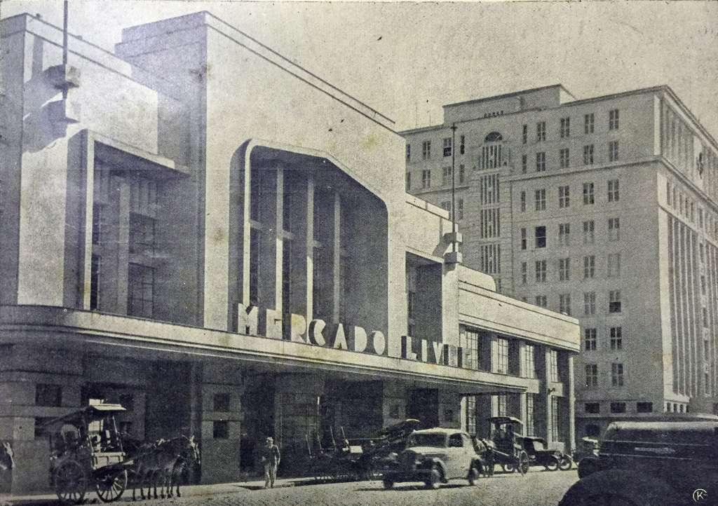 Porto Alegre - Mercado Livre na década de 1930.