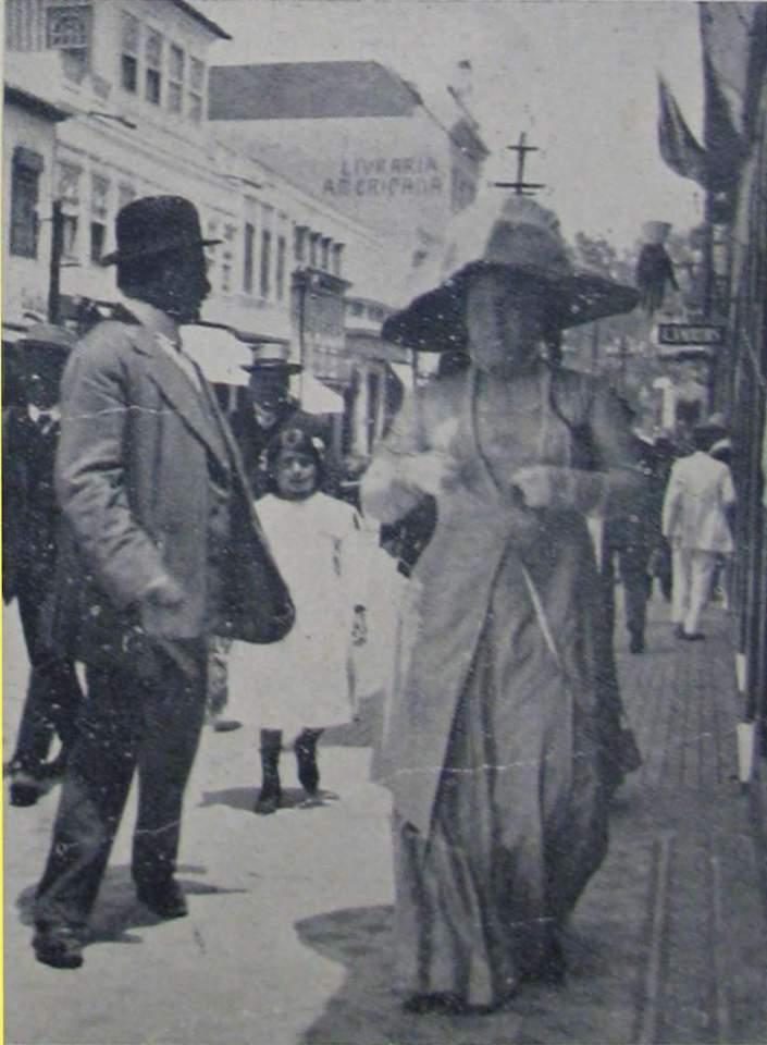 Porto Alegre - Moda durante footing na década de 1930.