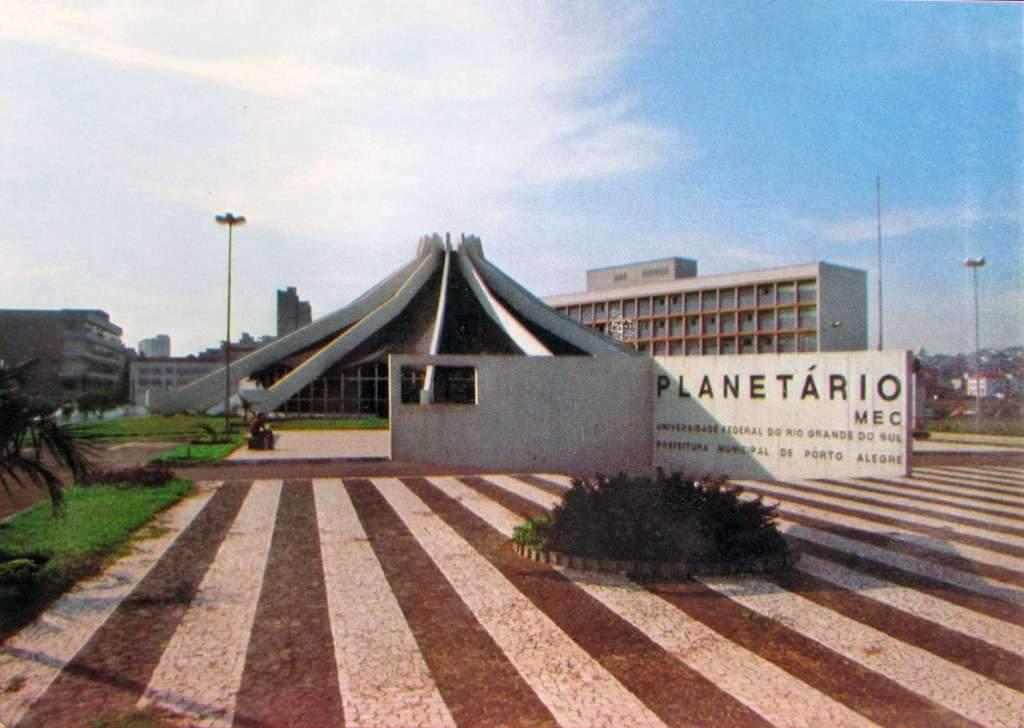 Porto Alegre - Planetário na década de 1970.