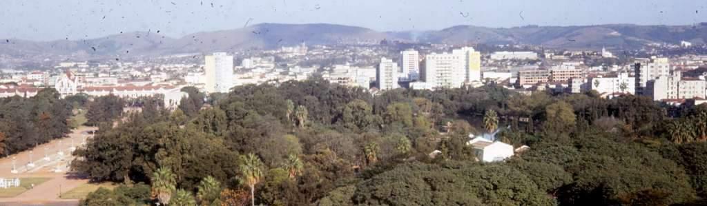 Porto Alegre - Vista Panorâmica em 1967. Fonte: acervo Ray Langsten.