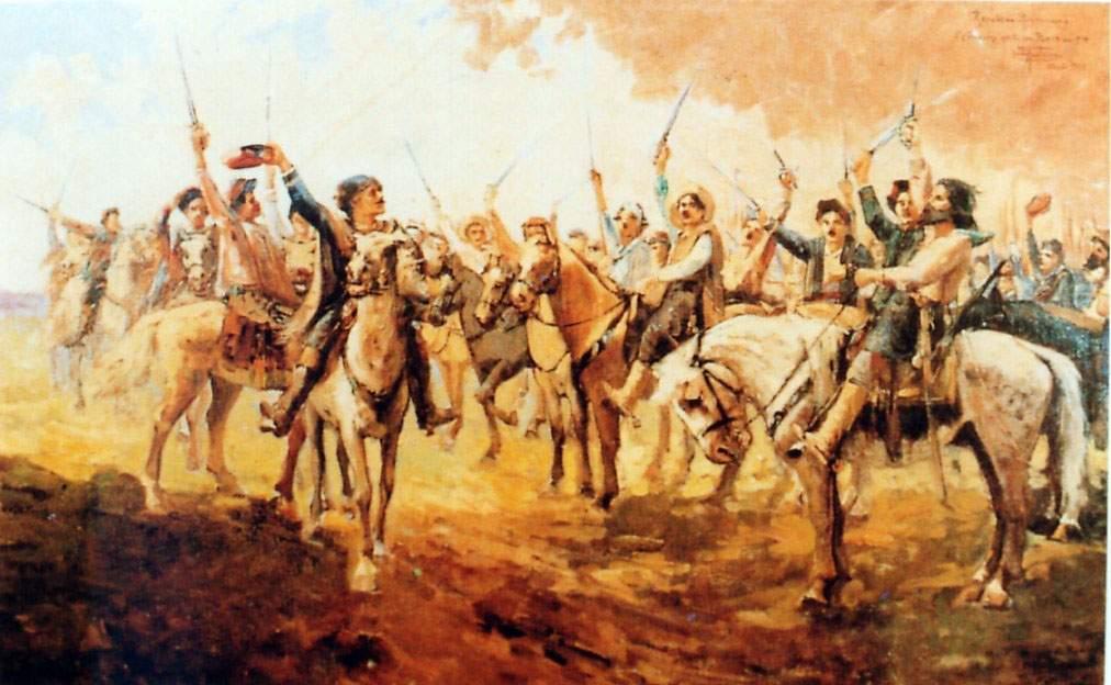 Proclamação da República Rio-Grandense em 20 de setembro de 1835.