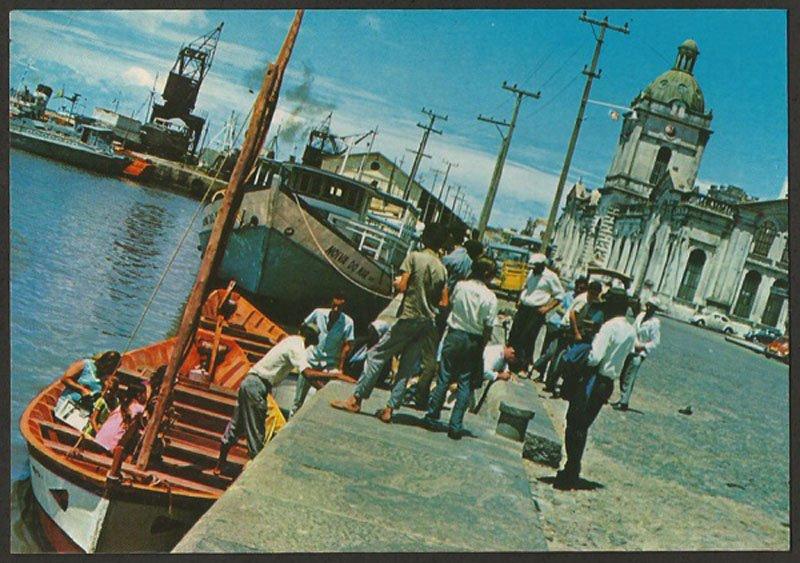 Rio Grande - Postal do Porto na década de 1970.