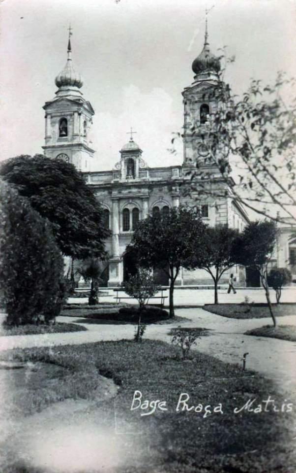 Bagé - Praça Matriz na década de 1940.