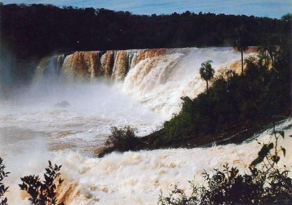 Espumoso - Salto grande do Jacuí na década de 1970.