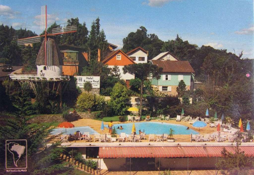Gramado - Postal na década de 1970.