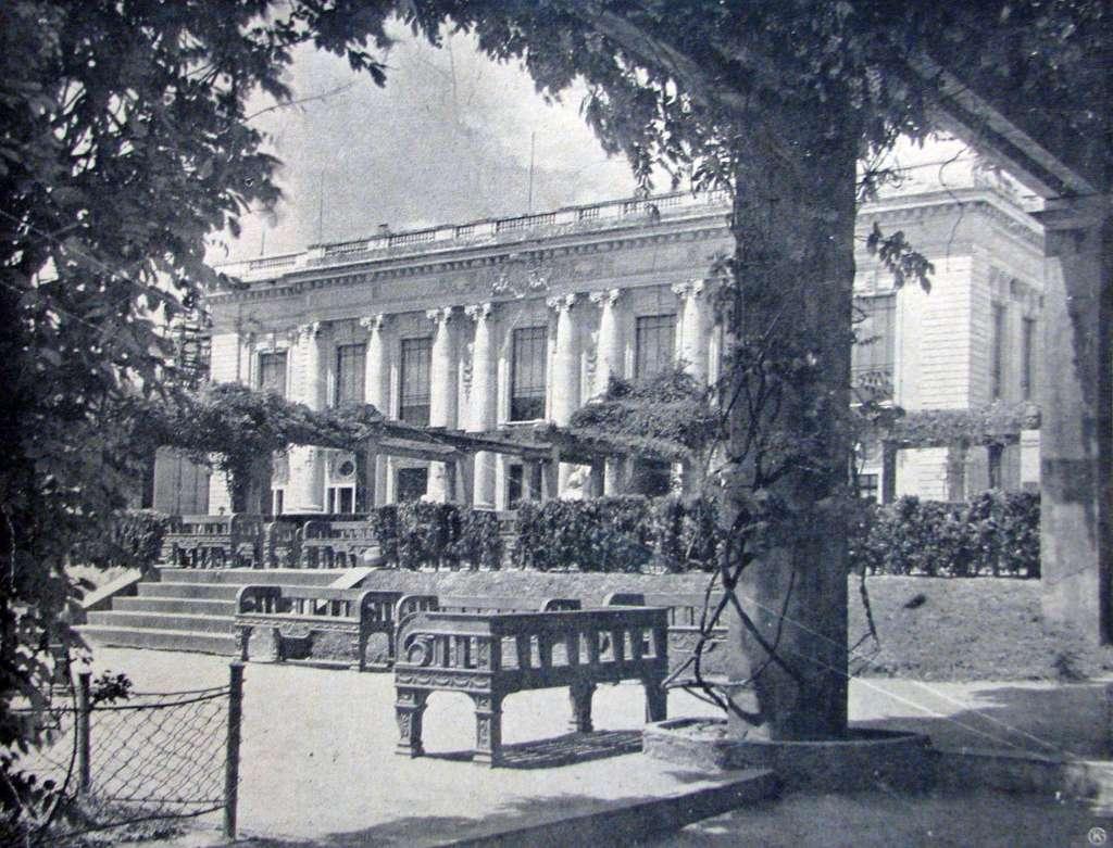 Porto Alegre - Palácio do Governo na década de 1930.