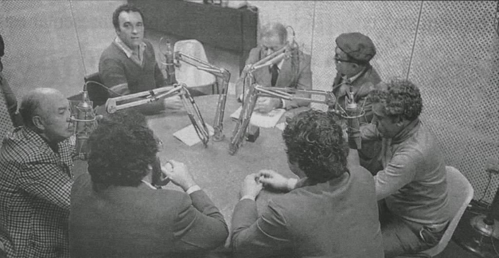 Porto Alegre - Sala de Redação na década de 1970. Fonte: Jornal Zero-Hora.
