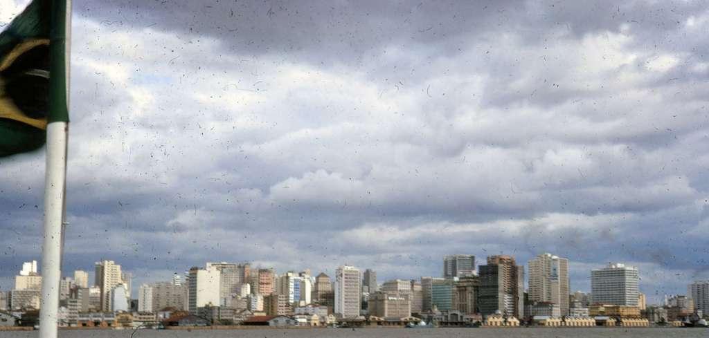 Porto Alegre - Silueta de Edifícios do centro em 1966.