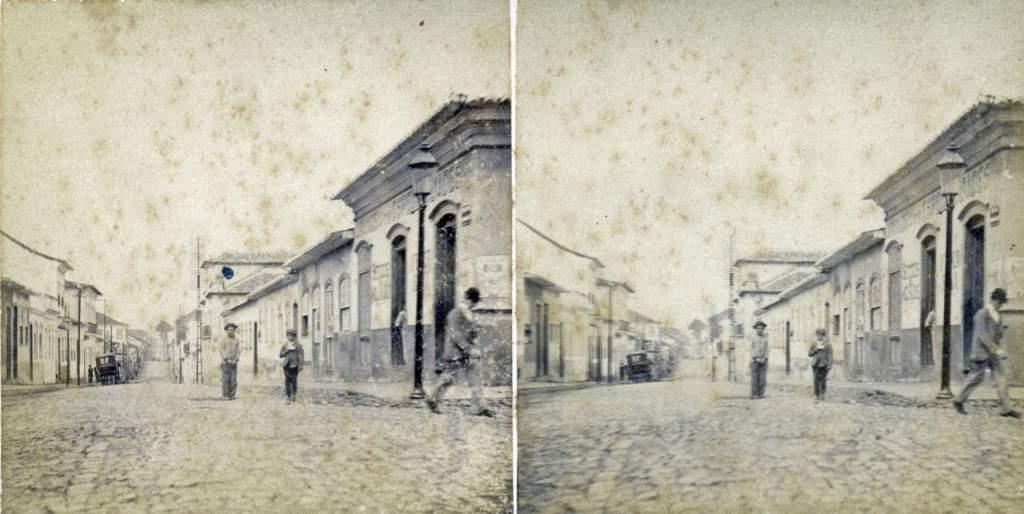 Porto Alegre - Rua dos Andradas (Antiga Rua da Praia) no início do século XX.