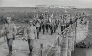 Alegrete 6º RC Desfile de 7 de Setembro Ponte da Restinga Seca 1964
