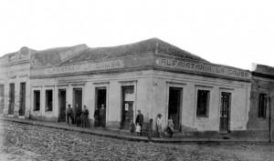 Alegrete Alfaiataria La Gamba Rua dos Andradas esq Rua 20 de Setembro 1932