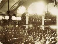 RJ Rio de Janeiro Sessão aprovação Lei Áurea - (A. Luís Ferreira) 1888