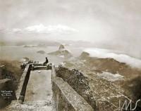 RJ Rio de janeiro Vista tomada do Corcovado(Augusto Malta- IMS) 1906