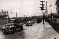 SP São Paulo Enchente Av Cruzeiro do Sul, Z. Norte - 1957