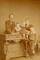 Conde Eu Princesa Isabel filhos 1885
