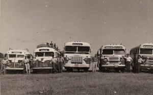 Camaquã Ônibus de linha do interior déc1950